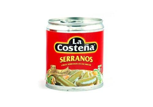 La Costena Serrano peppers, 199g