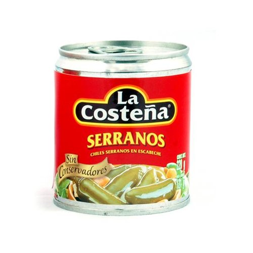 La Costena Serrano peppers, 199g
