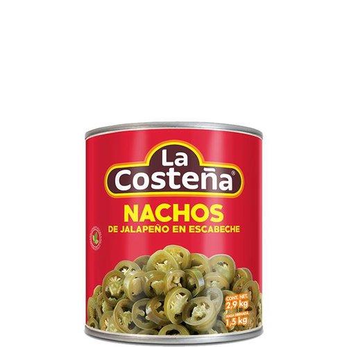 La Costena Nacho Jalapenos, 199g