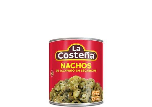 La Costena Nacho Jalapeno's, 2.8kg