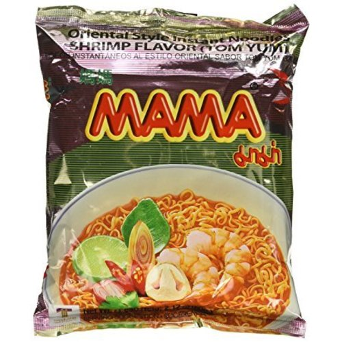 MAMA Instant Noodles Tom Yum Shrimp, 60g