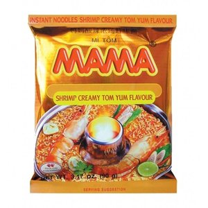 MAMA Instant Noodles Tom Yum Creamy, 90g