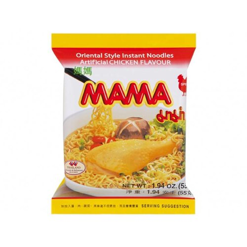 MAMA Instant Noodles Chicken, 55g