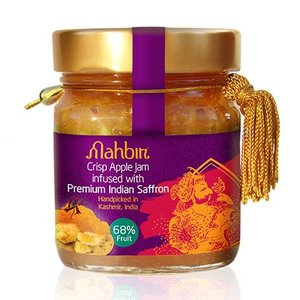 Mahbir Crispy Apple Jam With Saffron, 240g