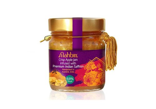 Mahbir Crispy Apple Jam With Saffron, 240g