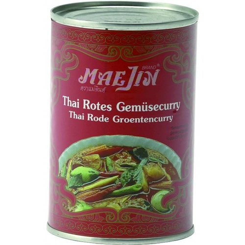 Red Curry with Vegetables, 410ml