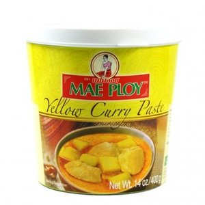 Mae Ploy Yellow Curry Paste, 400g