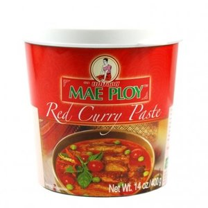 Mae Ploy Red Curry Paste, 400g