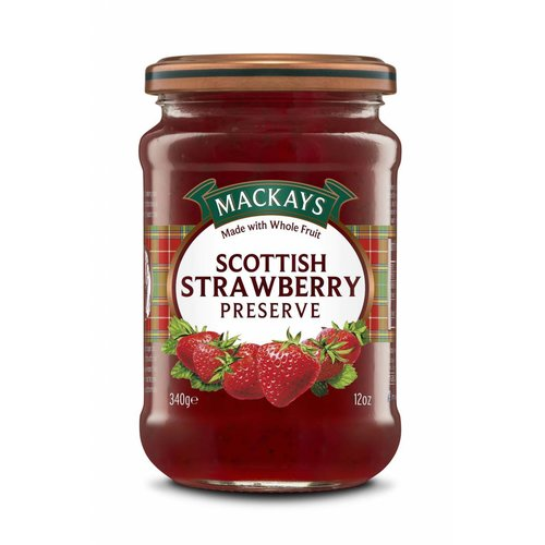 Mackays Scottish Strawberry Preserve, 340g