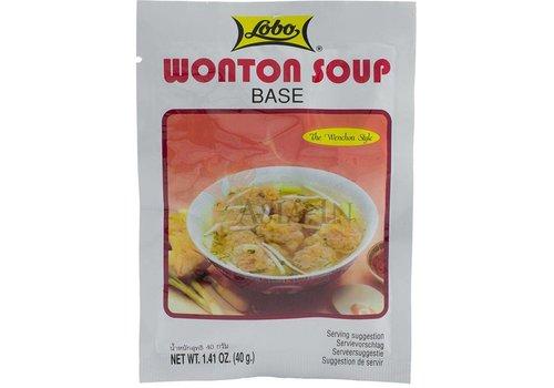 Lobo Won Ton Soup Base, 40g