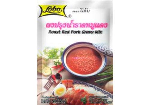 Lobo Red Pork Gravy Mix, 50g