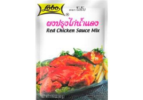 Lobo Red Chicken Sauce Mix, 50g