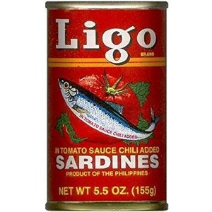 Ligo Sardines in Hot Tomato Sauce, 155g