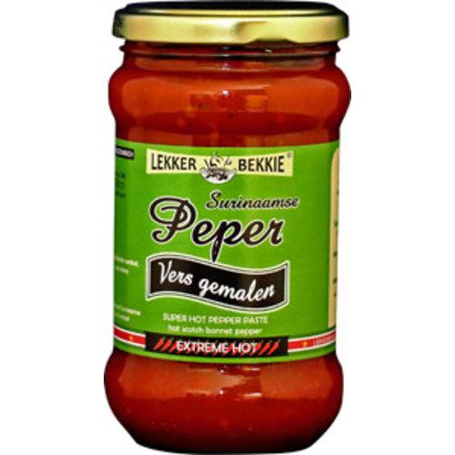 Lekker Bekkie Freshly Ground Surinamese Pepper, 290ml