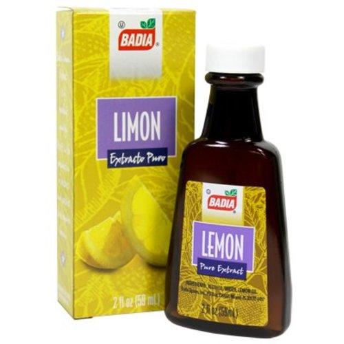 Badia Pure Lemon Extract, 59ml