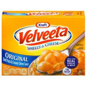 Kraft Velveeta Shells, 340g