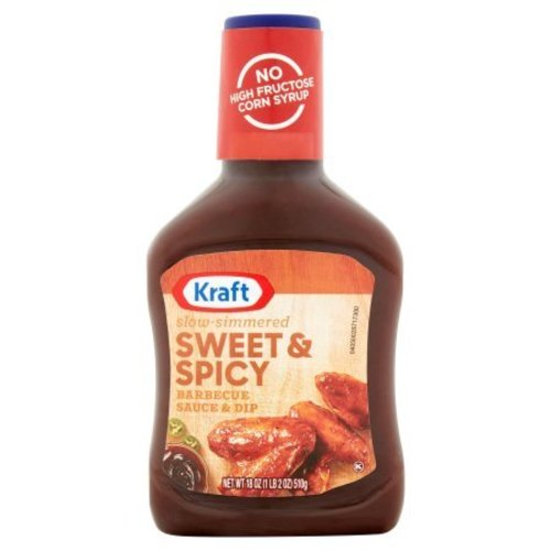 Kraft Sweet & Spicy BBQ Sauce, 510g