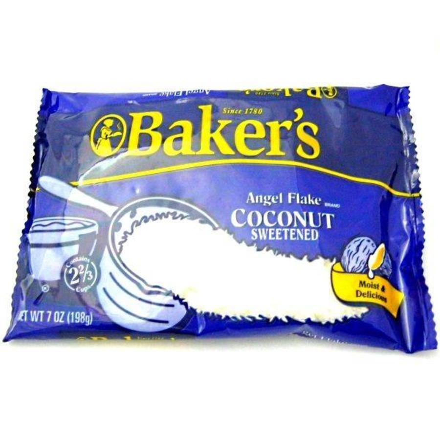 Bakers Angel Coconut Flakes, 198g