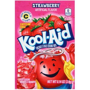 Kool Aid Strawberry, 4g