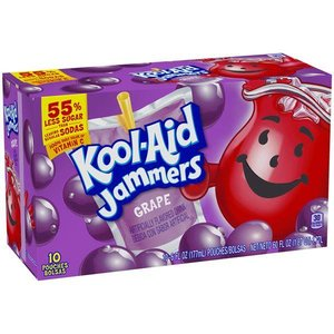 Kool Aid Jammers Grape 10pk