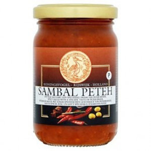 Koningsvogel Sambal Peteh, 360g