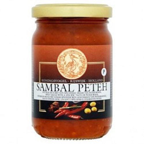 Koningsvogel Sambal Peteh, 180g