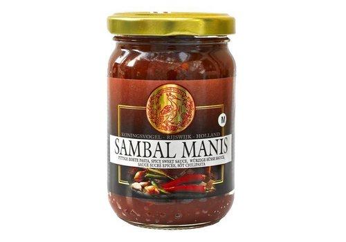 Koningsvogel Sambal Manis, 375g