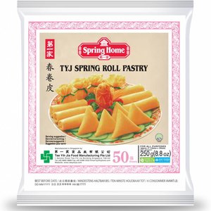 Spring Home Spring Roll Pastry 125mm, 50pc