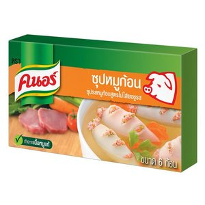 Knorr Pig stock cubes (NO MSG), 60g