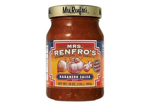 Mrs. Renfro's Hot Habanero Salsa, 454g