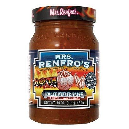 Mrs. Renfro's Ghost Pepper Salsa, 454g