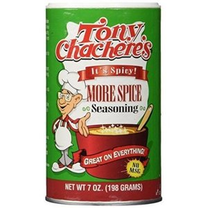 Tony Chachere's More Spice Seasoning, 198g