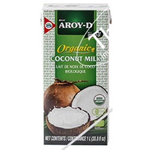 Aroy-D Organic Coconut Milk, 1L