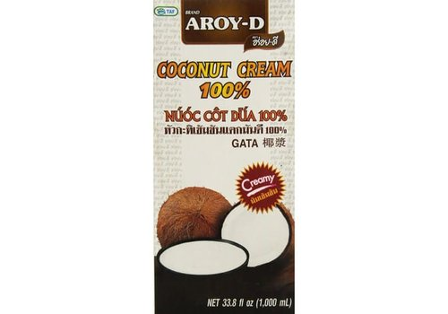 Aroy-D Coconut Cream, 1L