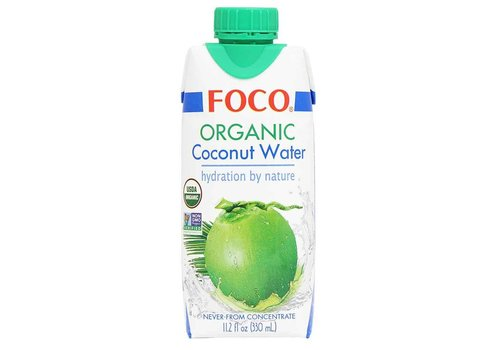 Foco Organic Coconut Water, 330ml