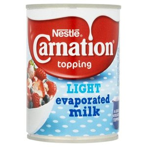 Carnation Light Evaporated Milk, 410g