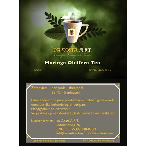 Da Costa A.R.T. Moringa Oleifera Tea, 25g