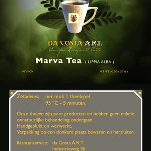 Da Costa A.R.T. Marva Tea, 25g