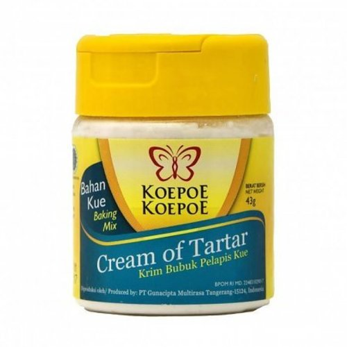 Koepoe Koepoe Cream of Tartar, 43g