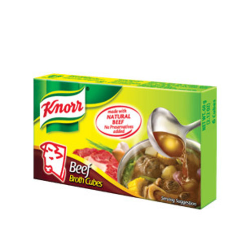 Knorr Beef Cubes, 20g