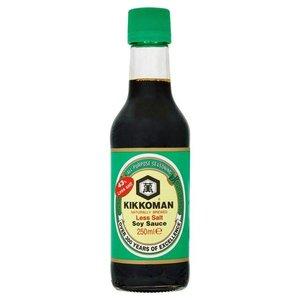 Kikkoman Soy Sauce Less Salt, 250ml