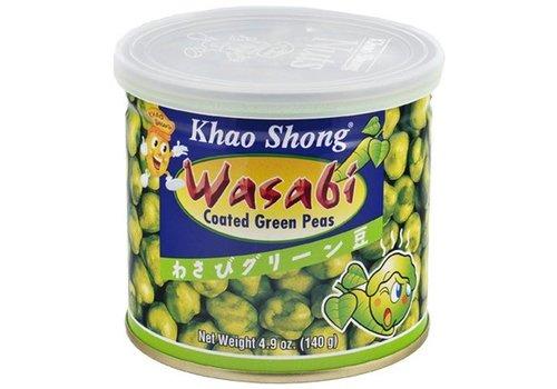 Khao Shong Wasabi Peas, 140g
