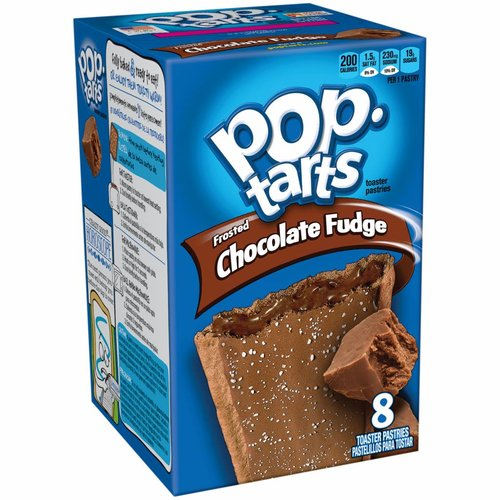 Kellogg's Pop-Tarts Chocolate Fudge Frost, 397g