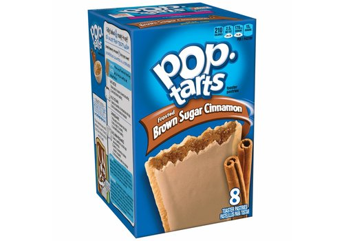Kellogg's Pop Tarts Frosted Brown Sugar Cinnamon, 397g