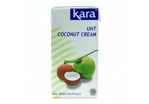 Kara UHT Natural Coconut Cream, 500ml