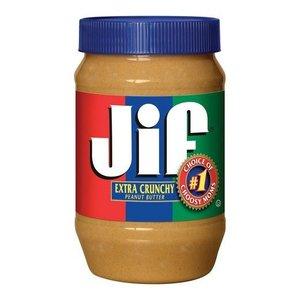 JIF Extra Crunchy Peanut Butter, 454g