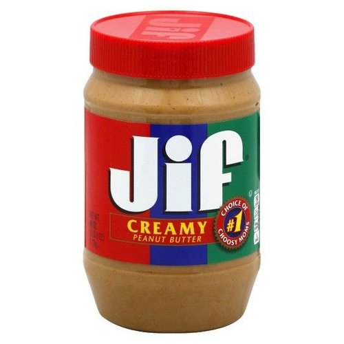 JIF Creamy Peanut Butter, 454g