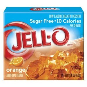 Jello Sugar Free Orange, 85g