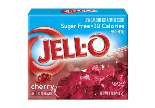 Jello Sugar Free Cherry, 85g