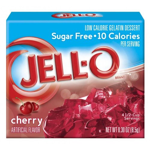 Jello Sugar Free Cherry, 85g